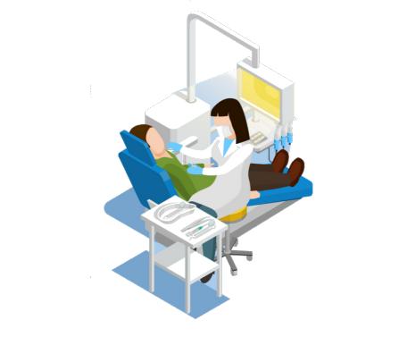 Cosa fare durante la visita odontoiatrica COVID-19